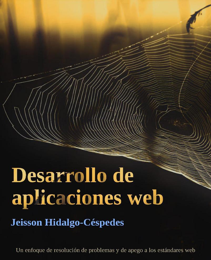 Desarrollo de aplicaciones web – Jeisson Hidalgo-Céspedes