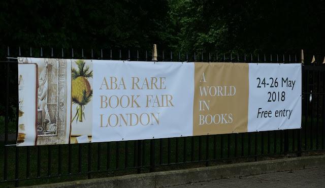 ABA Rare Book Fair 2018