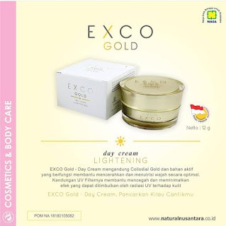 EXCO  GOLD DAY AND NIGHT CREAM