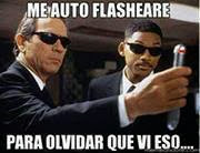 "Men in Black ""Me auto-flashearé para olvidar que vi eso"""