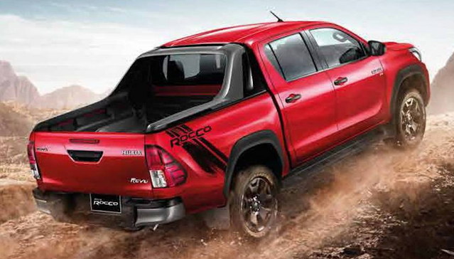 TOYOTA HILUX BECOME TO YEARS 2021 AND PERSONALIZED