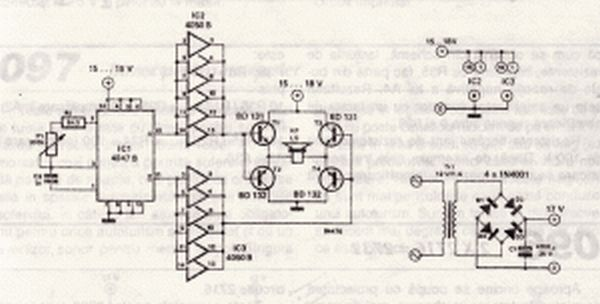 watt led driver using a joule thief circuit electronic