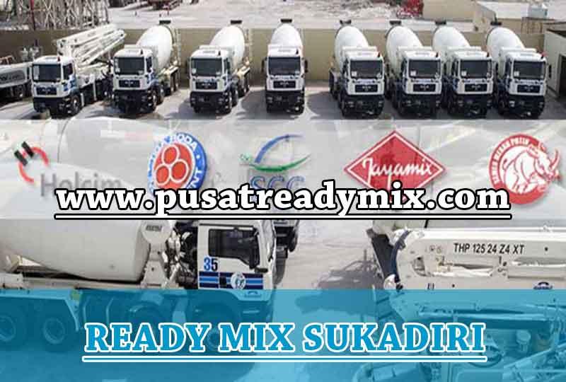 Harga Beton Ready mix Sukadiri