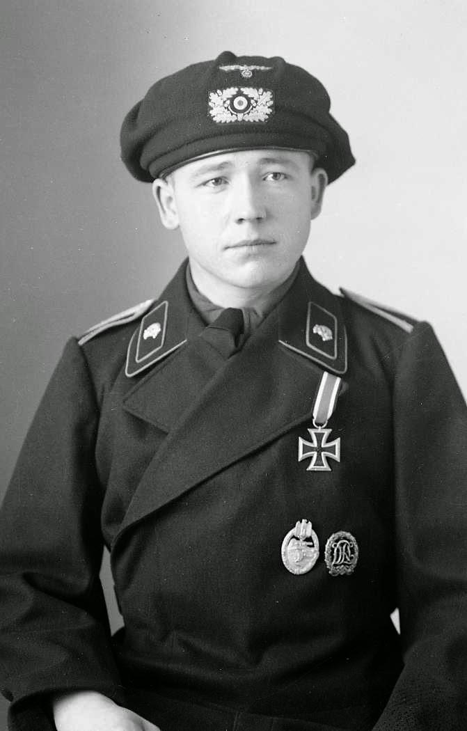 Nazi Jerman Album Foto Schutzm 252 Tze Baret Panzer