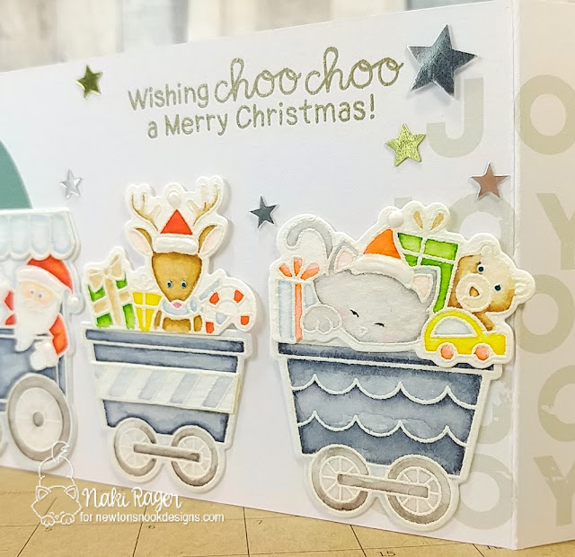 Newton's Nook Designs All Aboard for Christmas Set - Naki Rager