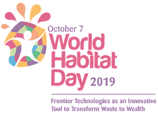 World Habitat Day October 7,2019
