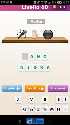 Emoji Quiz soluzione livello 60