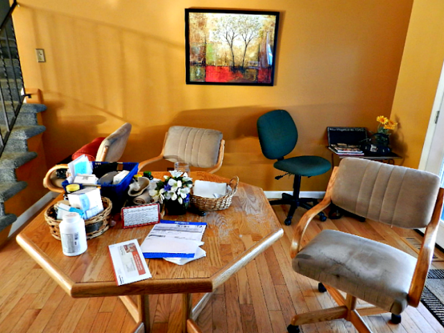 organizing, decorating, in-home office design, WAHM