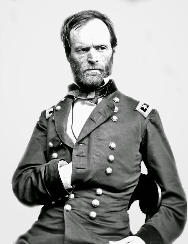 3 surprising facts about Civil War General William Tecumseh Sherman