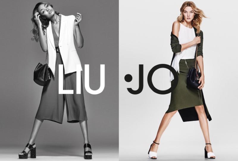 Tregua Publicidad Acuerdo  Liu Jo Spring/Summer 2016 Campaign featuring Karlie and Jourdan