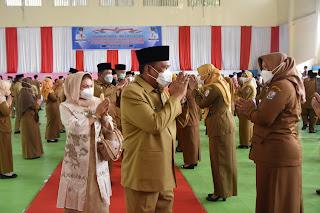 Bupati H Ashari Tambunan Lantik 175 Pejabat Administrator, Pengawas dan Fungsional dilingkungan Pemkab Deli Serdang