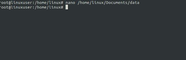 nano linux
