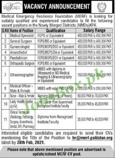 medical-emergency-resilience-foundation-merf-jobs-2021-apply-online