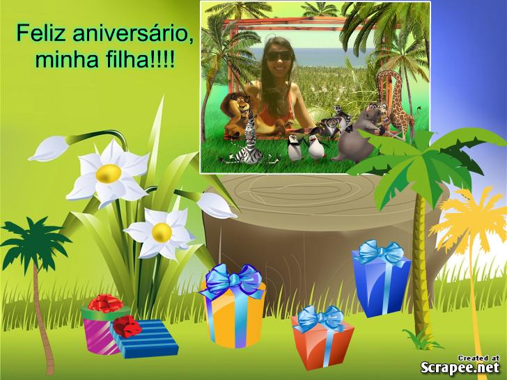 Feliz Aniversário Minha Filha: Fauzinha: Feliz Aniversário, Minha Filha!! Parabéns!! Bjs