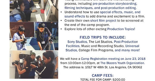 Film Camp is Here!