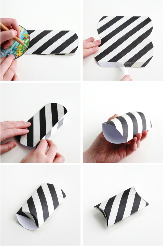 how to make your own diy pillow boxes