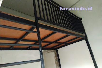 Mezzanine Besi Pesanan Bpk Jovian di Bekasi Selatan Selesai Terpasang