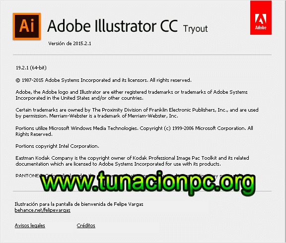 Adobe Illustrator CC 2015 para windows full