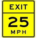 advisory speed on in spanish
