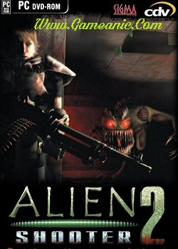 Alien Shooter 2 Game Cover