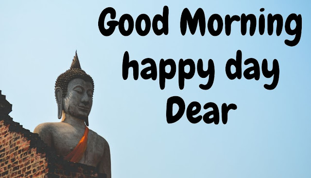good morning buddha image