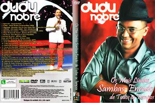DVD Dudu Nobre – Os Mais Lindos Sambas – Enredo de Todos os Tempos (2014)