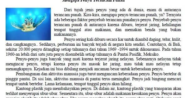 Download Contoh Soal TRY OUT Bahasa Indonesia Kelas 6 ...
