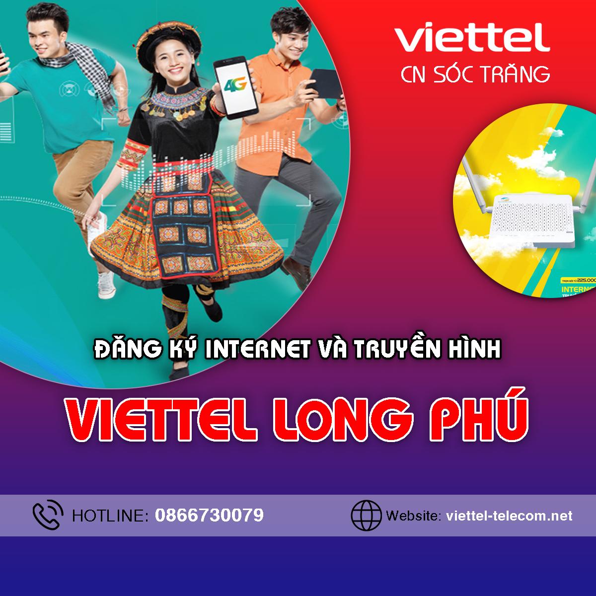 Liên hệ Cửa hàng Viettel huyện Long Phú - Điện thoại 0866191900