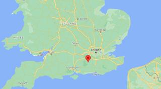 South East England Map