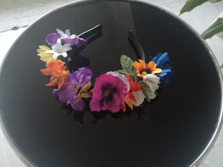 flower headband,craftrebella