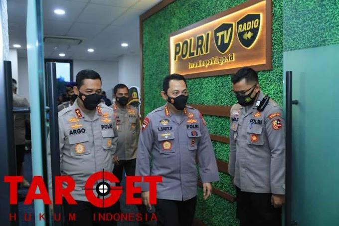 Launching Polri TV-Radio, Kapolri : Agar Lebih Dekat Dan Memberi Edukasi Masyarakat