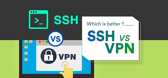 SSH vs VPN