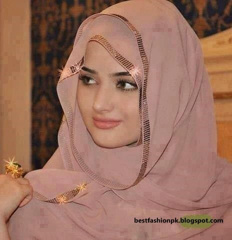 Hijab Style Pictures For Beautiful Muslim Girls Fashion