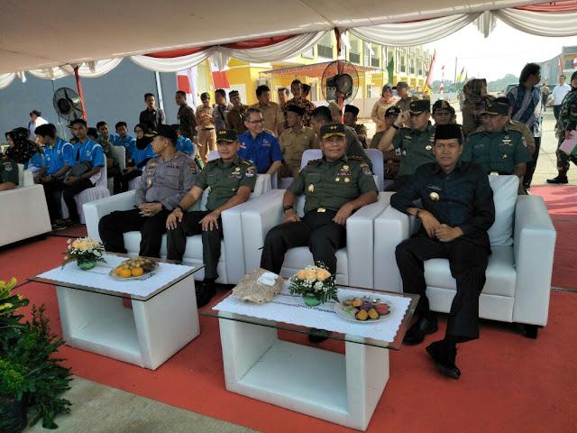 Pangdam Jaya Resmikan TMMD ke-102 Di Kecamatan Cisoka