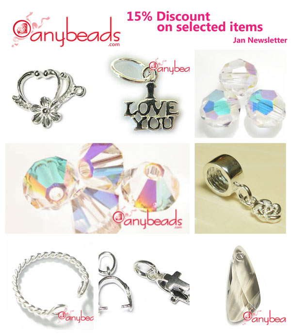 15% Discount on Selected Items in anybeads.com