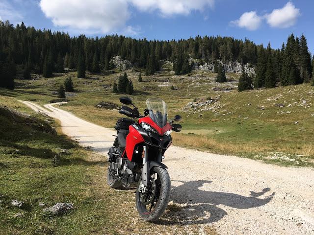 Ducati Multistrada 950 come va in offroad