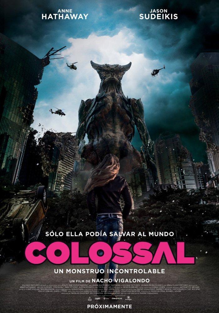 Colossal (2017) Anne Hathaway, Jason Sudeikis, Dan Stevens