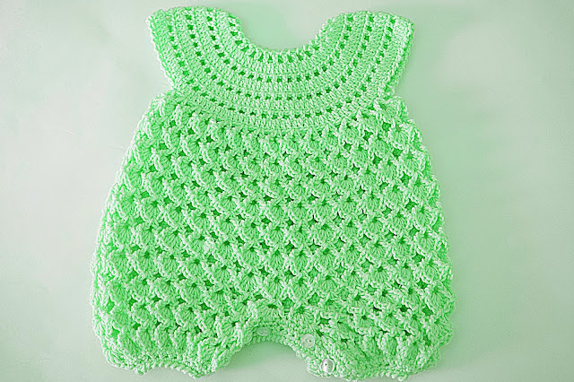 5 - Crochet IMAGEN Pelele rosa para todo el año. MAJOVEL CROCHET