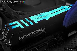 RAM HyperX FURY DDR4 RGB 3200MHZ 2x8GB