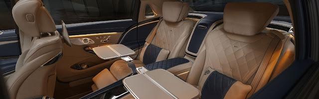Mercedes Bena Maybach S650 Interior photos