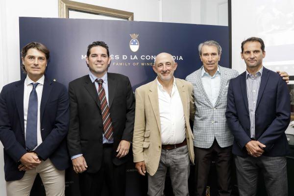 Marqués de la Concordia, bodega oficial de la Selección Española los próximos tres años
