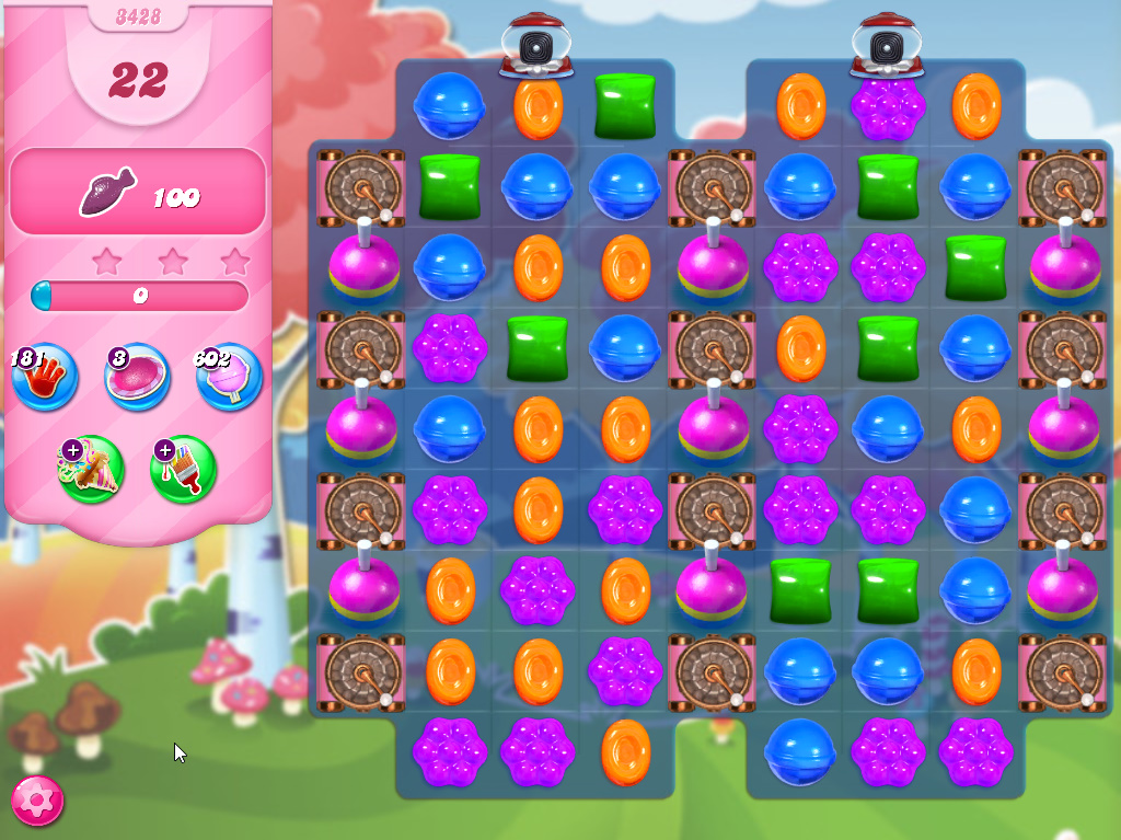 Candy Crush Saga level 3428