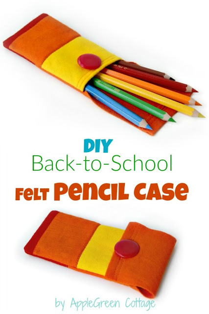 diy felt pencil case