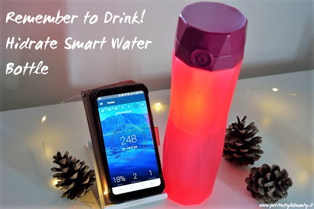 Water is life. It's easy to forget to drink up, but now there's a smart water bottle that reminds us to stay hydrated! #remembertodrink #smartwaterbottle #drinkwater #glowingbottle #reusablebottle #review #waterintake #wellbeing #fitnessgoals #weightloss #benefitsofwater #healthyhabits #hidratespark