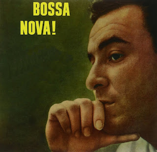 Capa de edição estrangeira de disco de João Gilberto — Foto: Reprodução / Internet