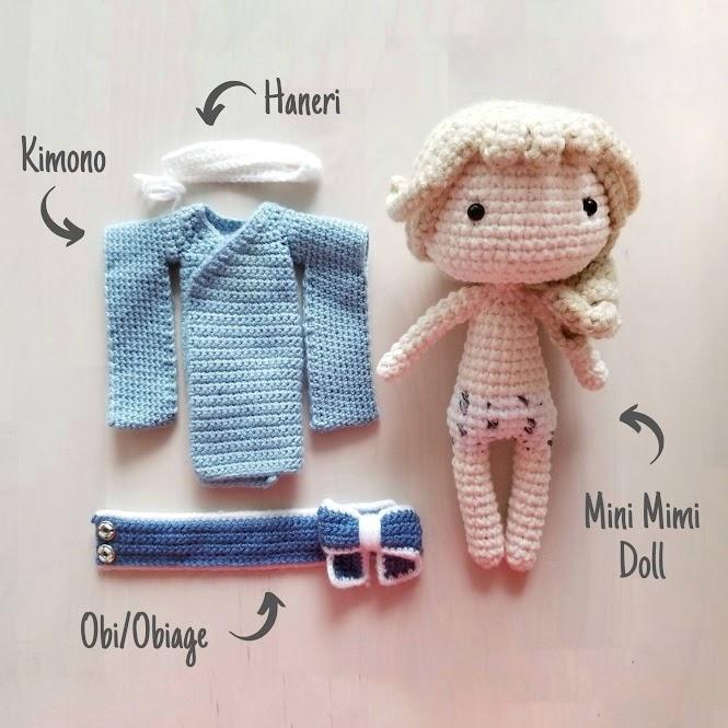 Kimono Doll Amigurumi Free Crochet Pattern