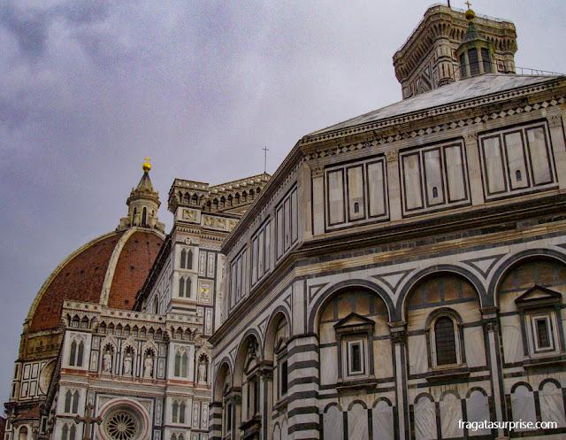 Florença: catedral e Batistério