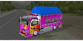 download mod bussid truck canter budak rawit