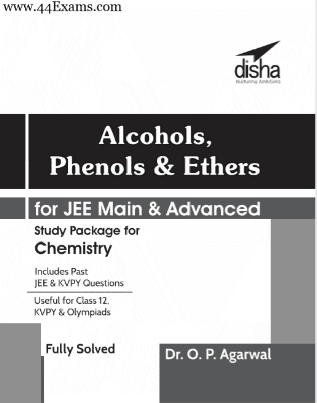 Alcohols-Phenols-and-Ethers-by-Disha-Publication-For-JEE-Main-and-Advanced-Exam-PDF-Book