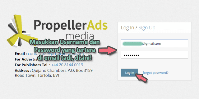 Propeller Ads: Alternatif Google Adsense